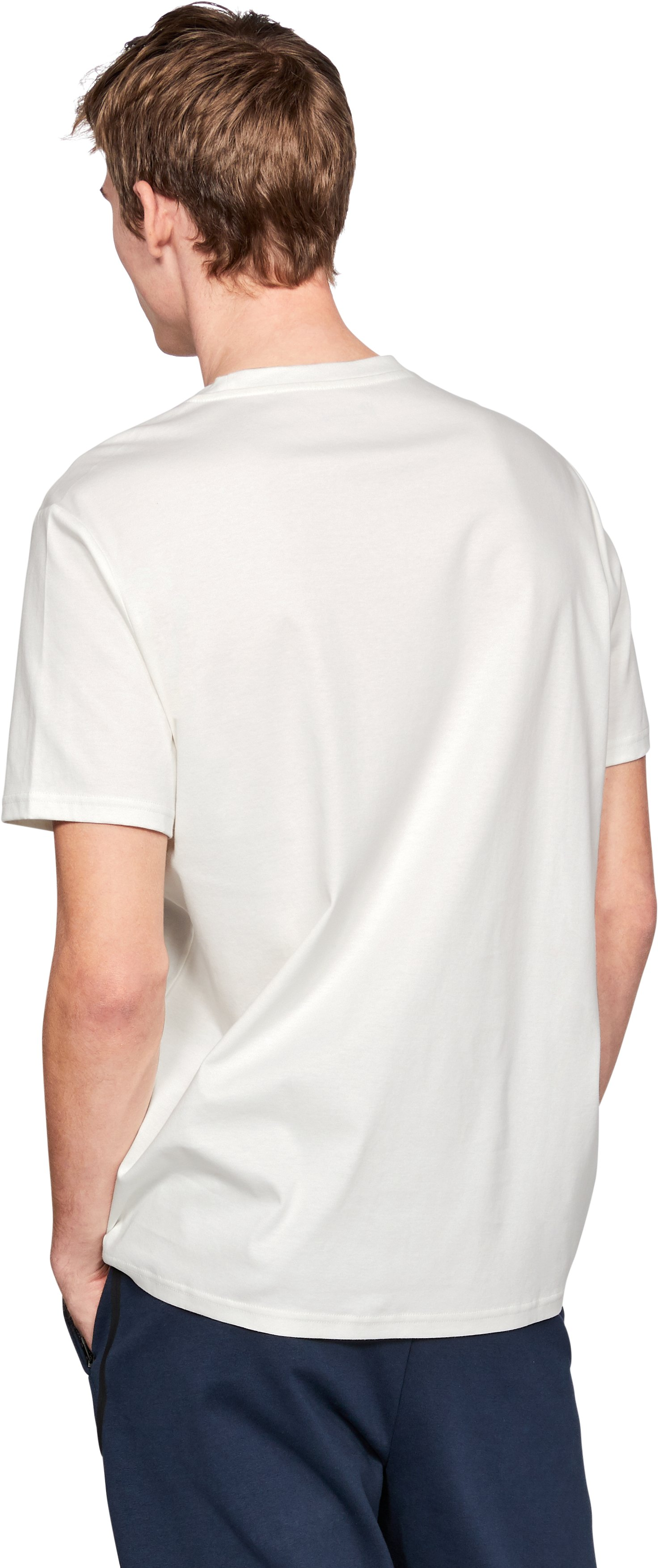 Men's UAS Delta Geo T-Shirt, White,