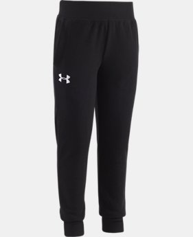 New Arrival Girls' Pre-School UA Hundo Jogger  2 Colors $29.99