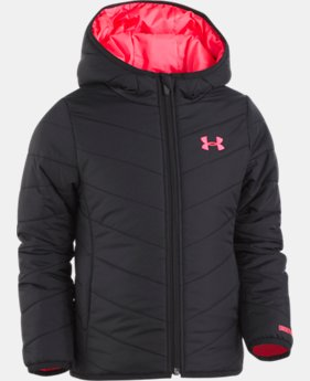 New Arrival Girls' Pre-School UA Premier Puffer Jacket  3 Colors $44.99