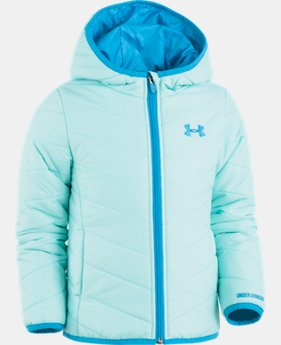 Girls' Pre-School UA Premier Puffer Jacket  2  Colors Available $51.99