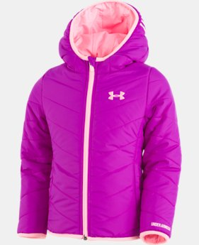 New Arrival Girls' Pre-School UA Premier Puffer Jacket  3 Colors $59.99