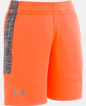 New Arrival Boys' Pre-School UA Stunt Shorts  1  Color Available $24.99