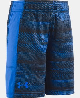 New Arrival Boys' Pre-School UA Stunt Shorts  2 Colors $24.99