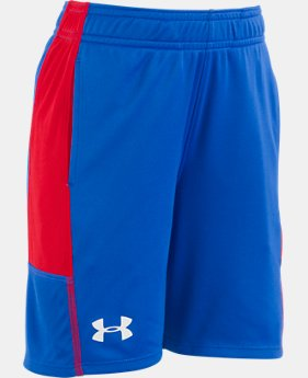 Boys' Pre-School UA Stunt Shorts  1  Color Available $18.99