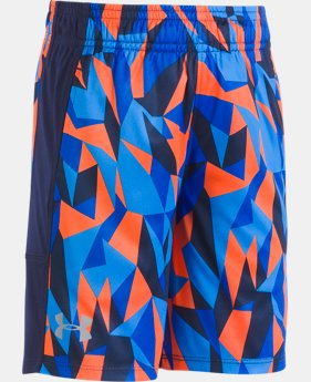 Boys' Pre-School UA Stunt Shorts  2 Colors $24.99