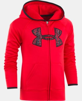 Boys' Toddler UA Digital City Big Logo Hoodie LIMITED TIME OFFER 1 Color $29.99