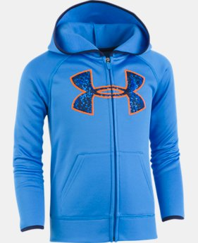 Boys' Toddler UA Digital City Big Logo Hoodie  1 Color $39.99