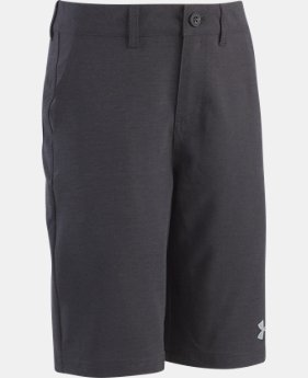 New to Outlet Boys' UA Striated Shorts  1 Color $29.99 to $37.99