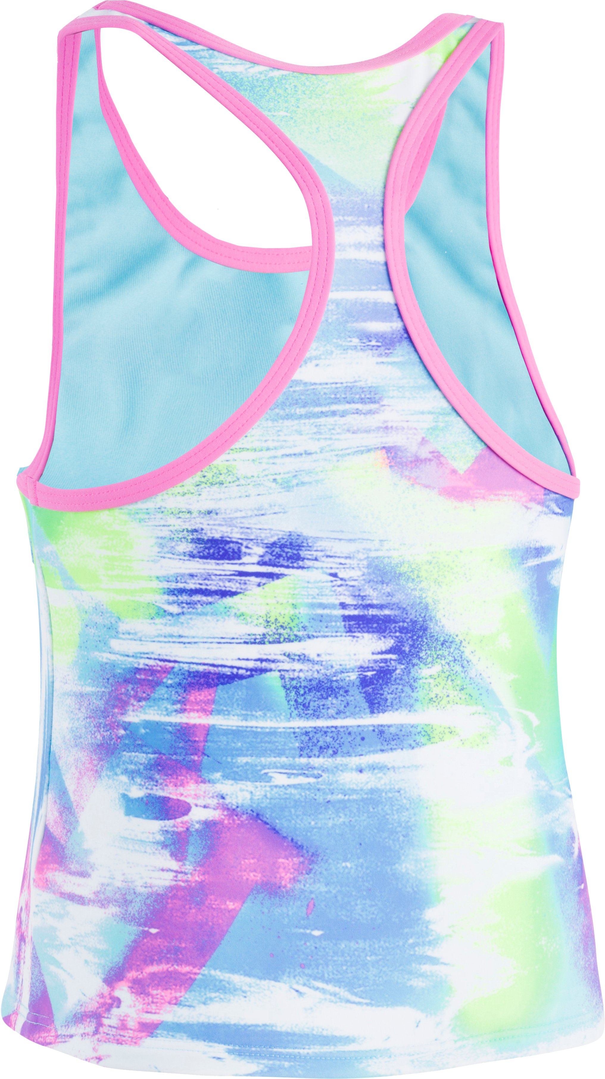 Girls' UA Dusty Tankini, Venetian Blue,