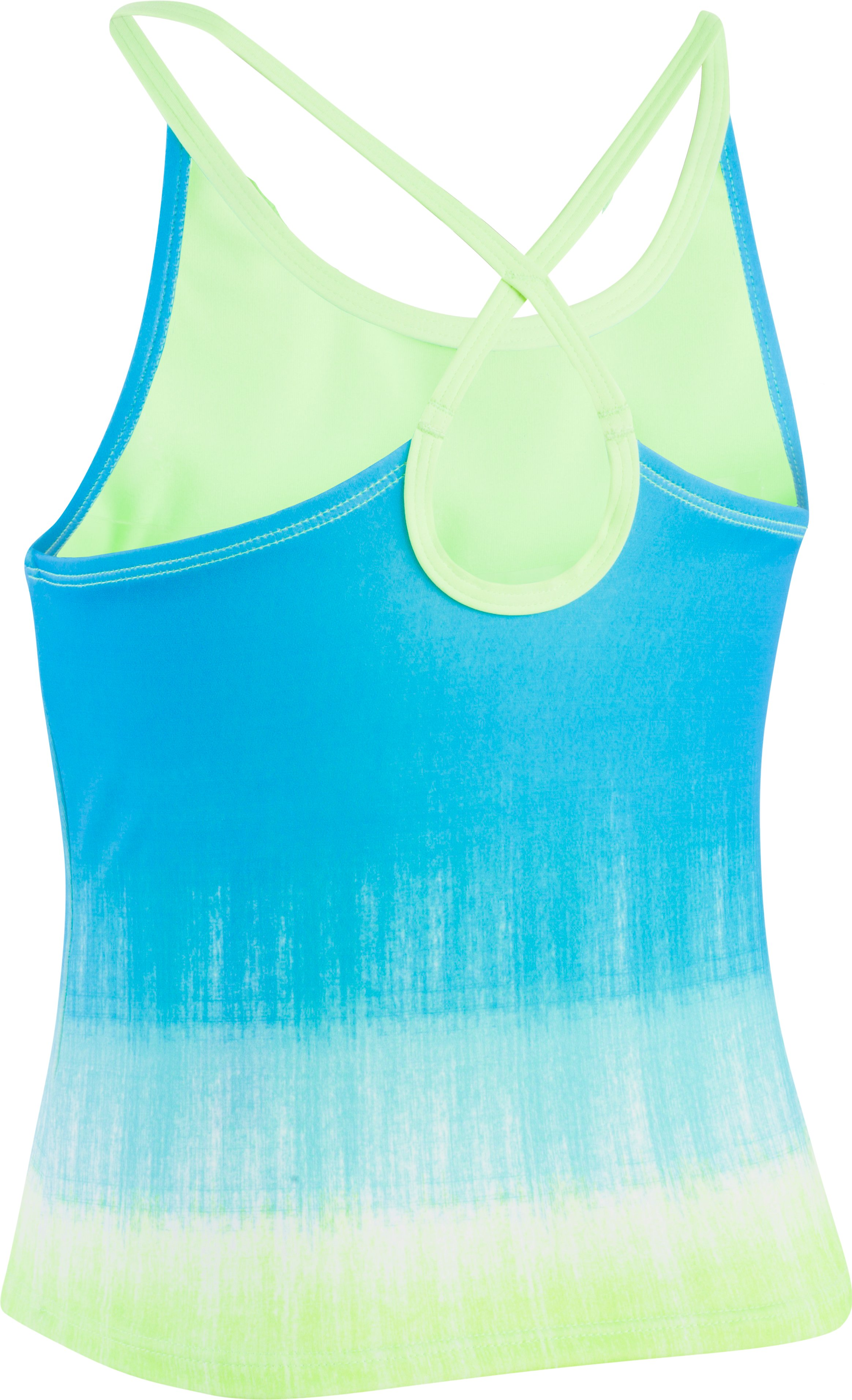 Girls' UA Ombre Tankini, MERIDIAN BLUE, undefined