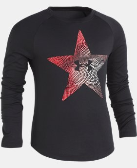 New Arrival Girls' Toddler UA Star Oracle Long Sleeve T-Shirt   $24.99