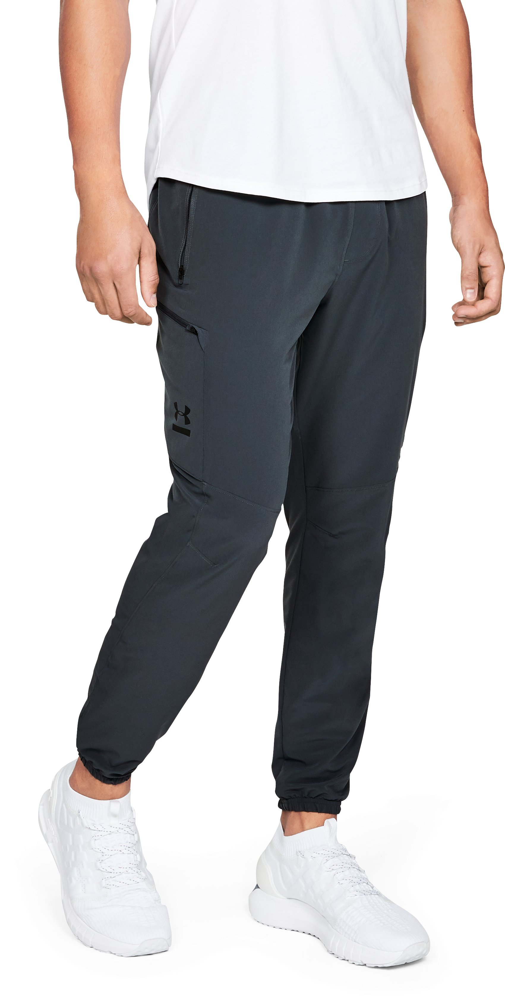 Men's UA Perpetual Cargo Pants, STEALTH GRAY,