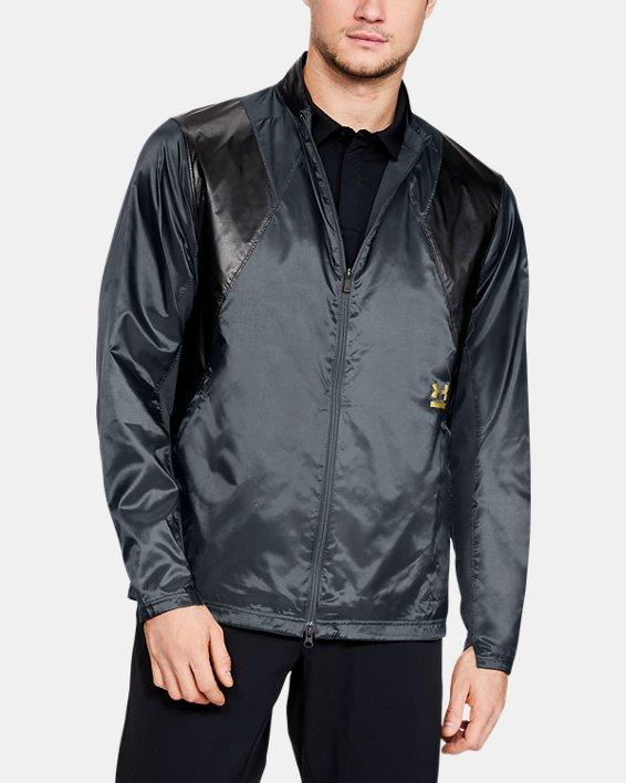 Men's UA Perpetual Jacket, Gray, pdpMainDesktop image number 0