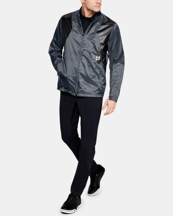 Men's UA Perpetual Jacket, Gray, pdpMainDesktop image number 1