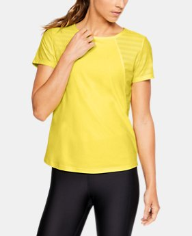 Women's UA Vanish Disrupt Mesh Short Sleeve  1  Color Available $60