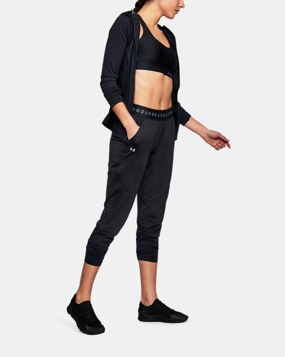 Women's UA Armour Sport Pants, Black, pdpMainDesktop image number 1