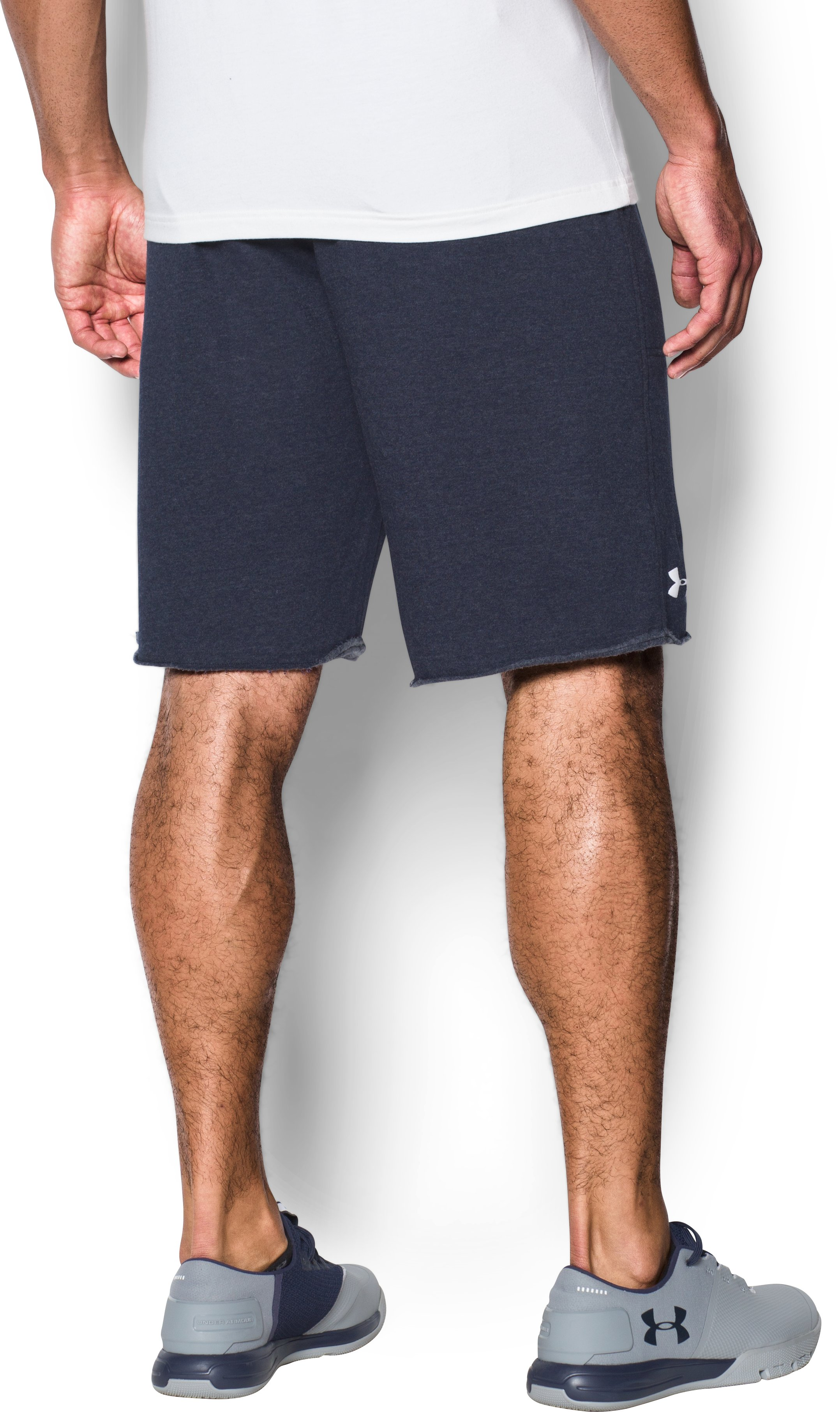 Men's Boston Red Sox Fleece Shorts, Midnight Navy, undefined