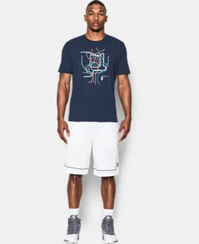 Men's UA Ball Anywhere T-Shirt  1 Color $14.24