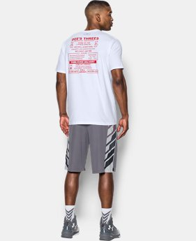 Men's UA Dees Threes T-Shirt  1 Color $14.24