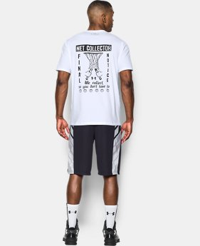 Men's UA Net Collector T-Shirt  1 Color $14.24