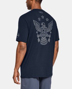 New Arrival Men's UA Freedom Eagle Arrows T-Shirt  1  Color Available $25