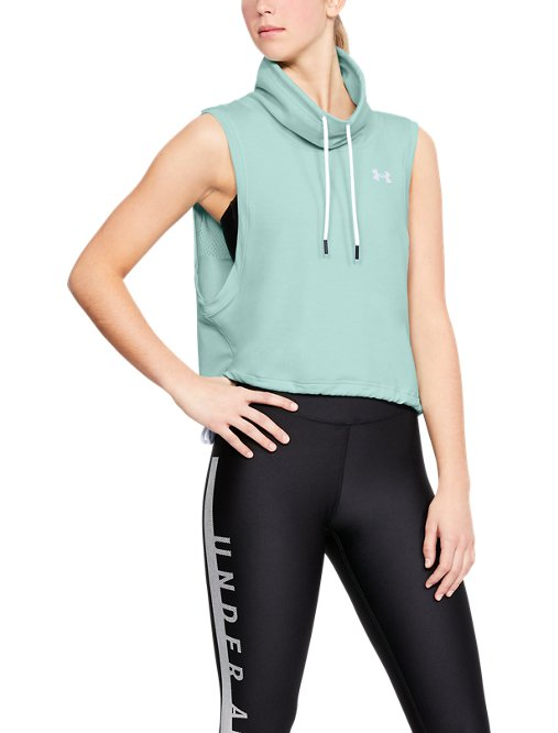 ef50fdc7cf This review is fromWomen's UA Featherweight Fleece Sleeveless Funnel Neck.