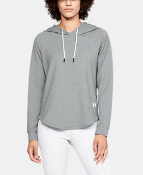Women's UA Featherweight Fleece Oversize Hoodie LIMITED TIME: FREE SHIPPING 1  Color Available $70