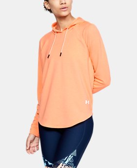 Women's UA Featherweight Fleece Oversize Hoodie  1  Color Available $60