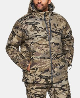 New Arrival Men's UA Revenant WINDSTOPPER® Parka  1  Color Available $400