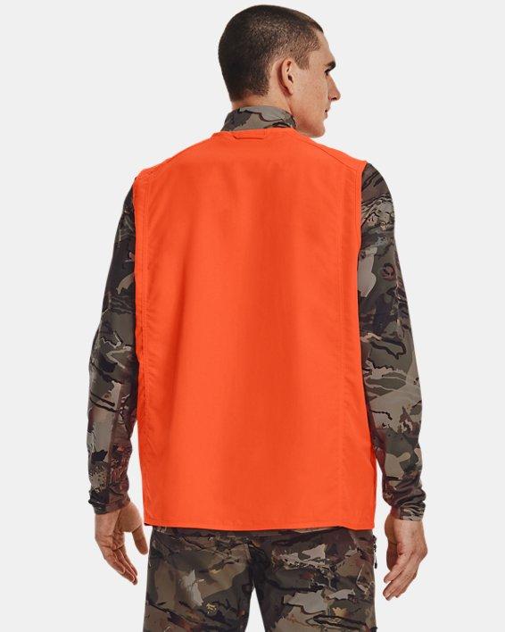 Men's UA Blaze Vest, Orange, pdpMainDesktop image number 2