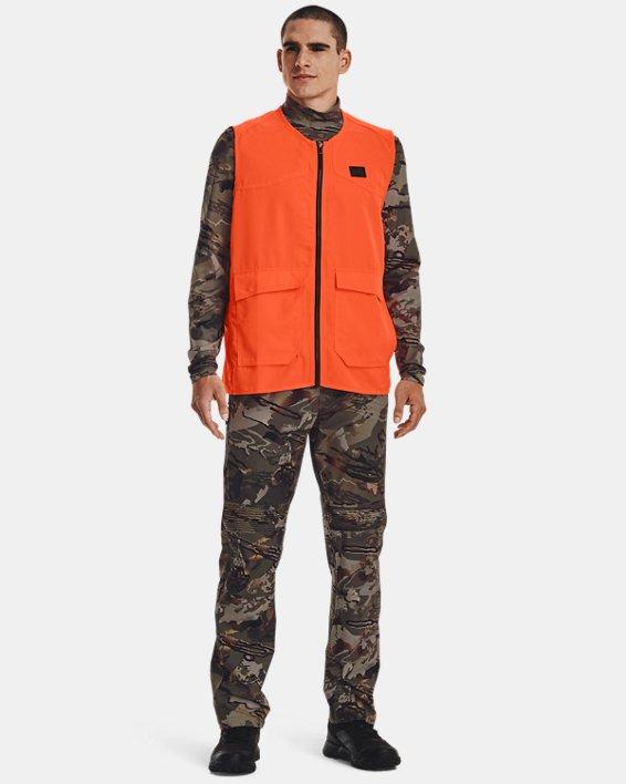 Men's UA Blaze Vest, Orange, pdpMainDesktop image number 1