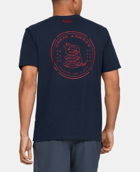 Men's UA Freedom Rattle T-Shirt  1  Color Available $25