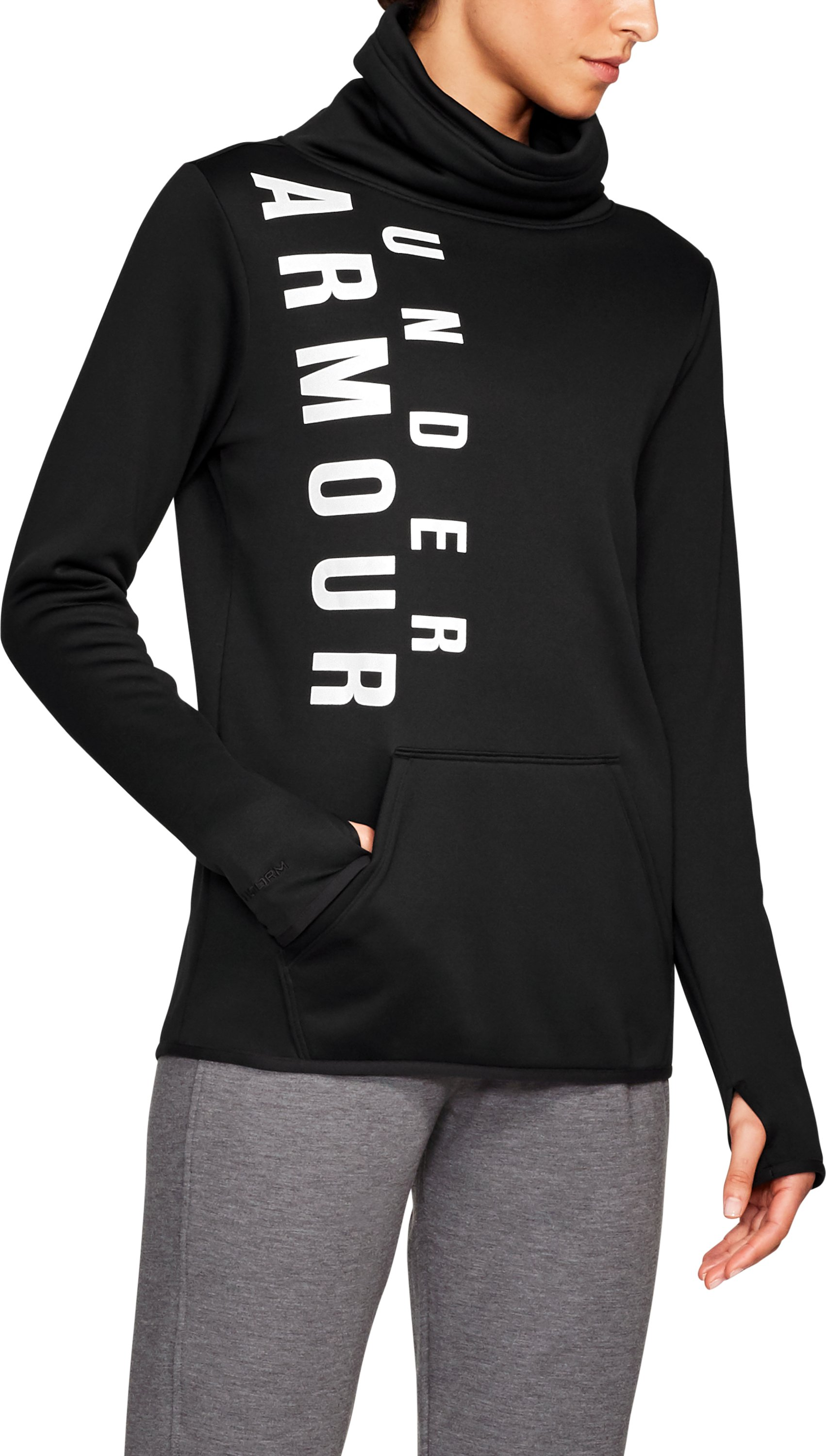 Armour Fleece® Graphic Pullover, Black