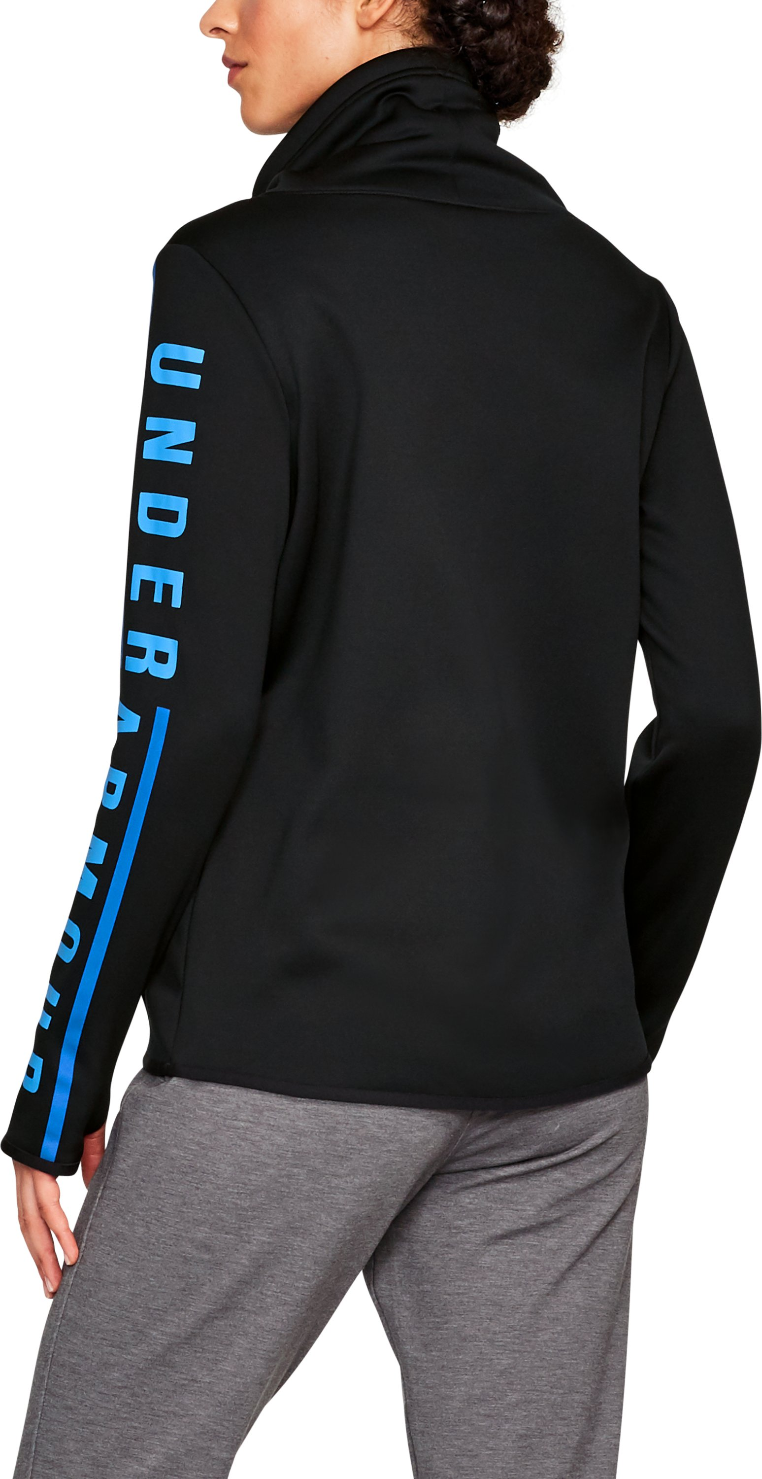 Armour® Fleece Graphic Pullover, Black