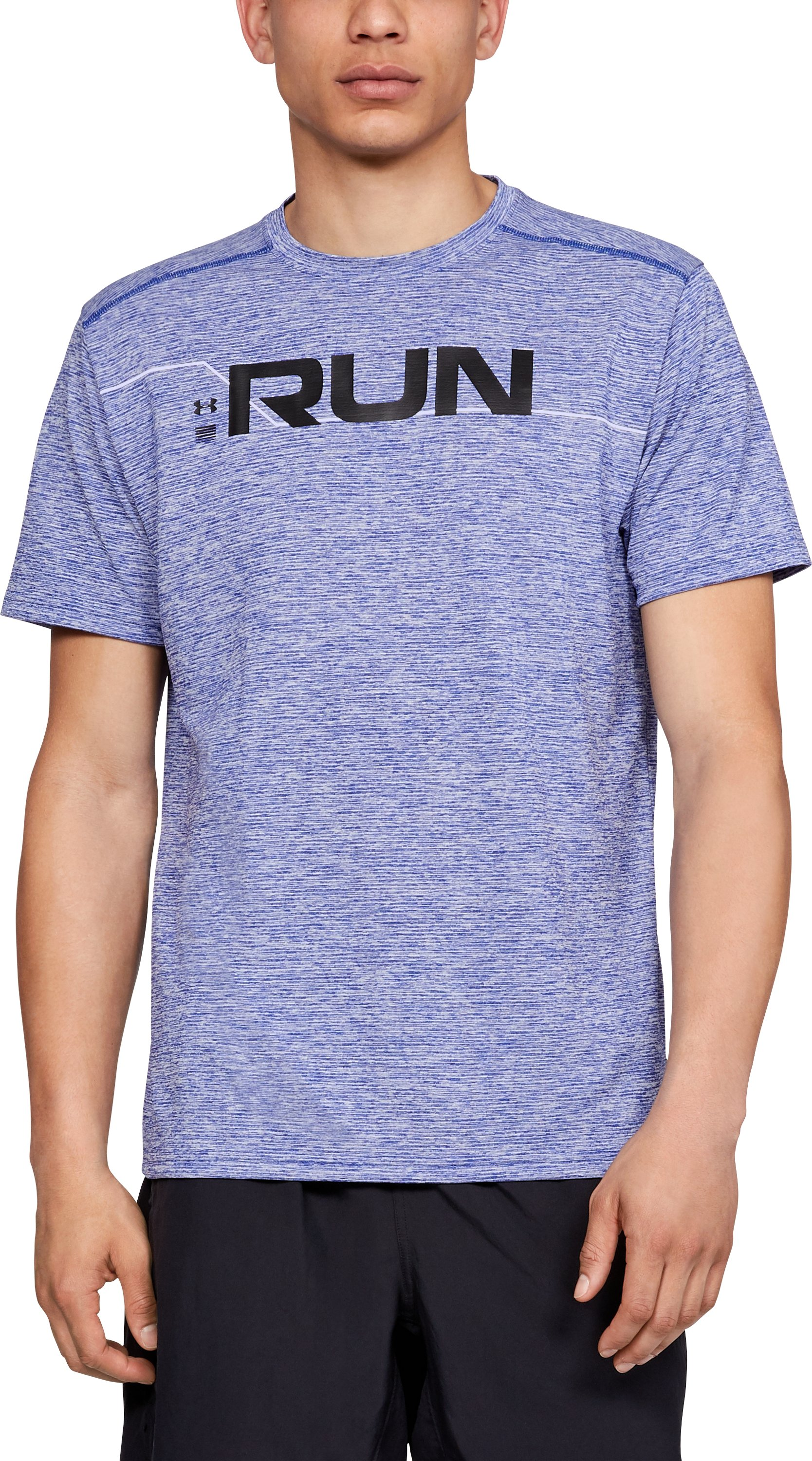 Men's UA Front T-Shirt, FORMATION BLUE