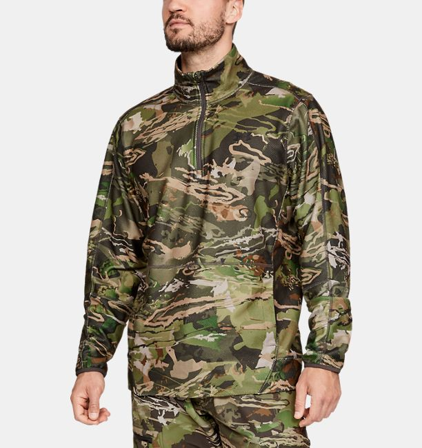 728b32878dd9f8 Men's UA Zephyr Fleece Camo ¼ Zip | Under Armour US