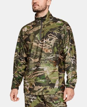 New Arrival  Men's UA Zephyr Fleece Camo ¼ Zip  2  Colors Available $90