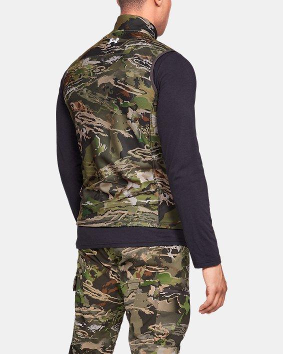 Men's UA OffGrid Fleece Camo Vest, Misc/Assorted, pdpMainDesktop image number 2