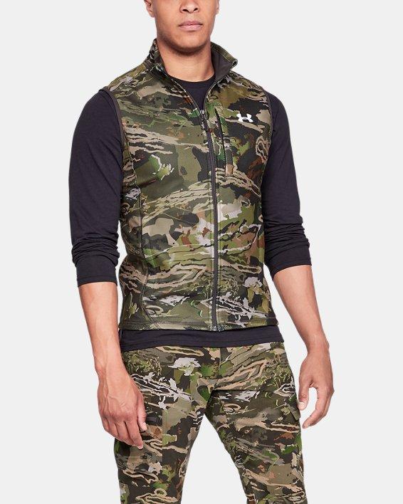 Men's UA OffGrid Fleece Camo Vest, Misc/Assorted, pdpMainDesktop image number 0