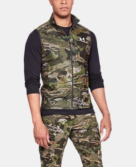 Men's UA Zephyr Fleece Camo Vest  3  Colors Available $80