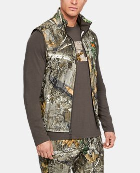 New Arrival Men's UA Zephyr Fleece Camo Vest FREE U.S. SHIPPING 1  Color Available $65