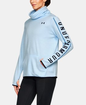New Arrival Women's Armour® Fleece Graphic Twist Pullover  3 Colors $54.99