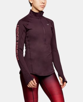 New to Outlet Women's ColdGear® Armour 1/2 Zip LIMITED TIME OFFER 3 Colors $45.49