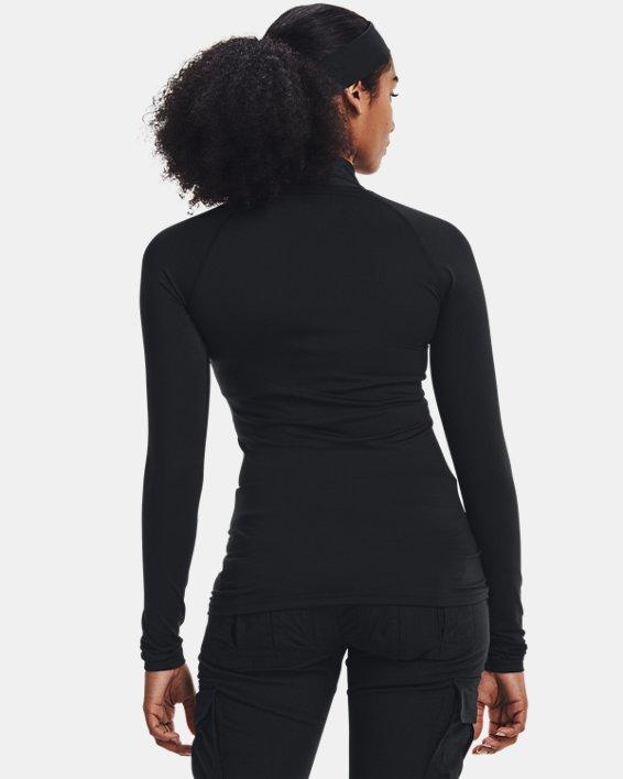 Women's UA Tactical Reactor Mock Base Long Sleeve Shirt, Black, pdpMainDesktop image number 2