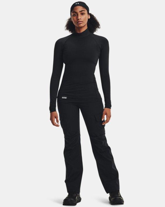 Women's UA Tactical Reactor Mock Base Long Sleeve Shirt, Black, pdpMainDesktop image number 1
