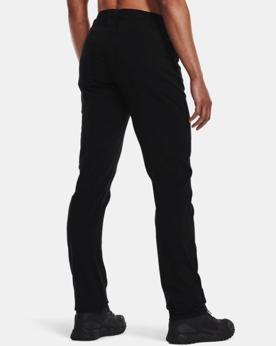 Women's UA Enduro Pants, Black, pdpMainDesktop image number 2