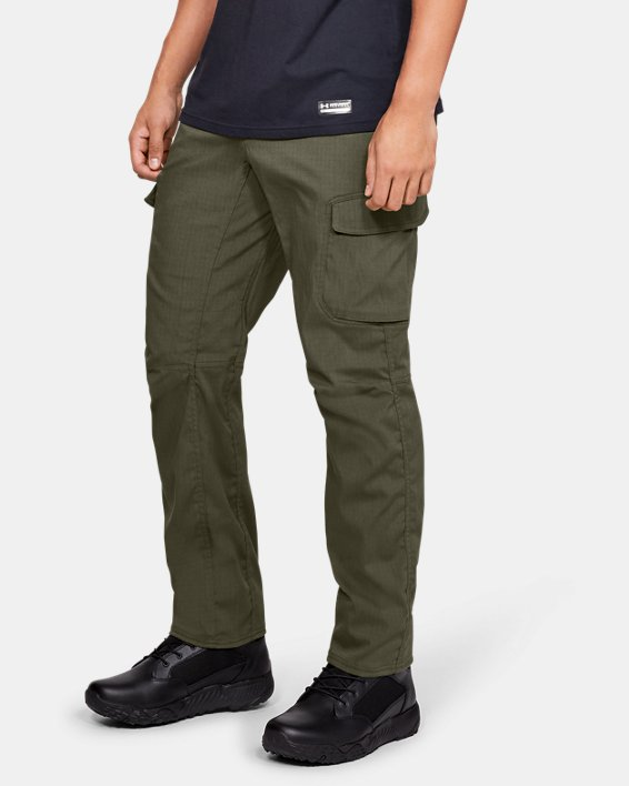 Men's UA Enduro Cargo Pants, Green, pdpMainDesktop image number 0
