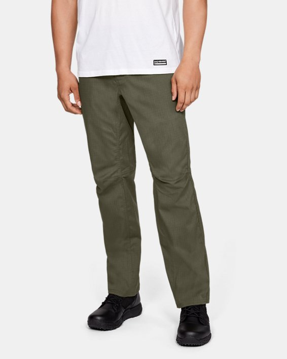 Men's UA Enduro Pants, Green, pdpMainDesktop image number 0