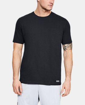 New Arrival Men's UA Tac Charged Cotton® T-Shirt  1  Color Available $25