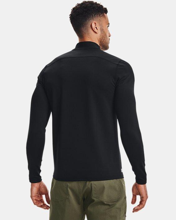 Men's UA Tactical Mock Base Long Sleeve Shirt, Black, pdpMainDesktop image number 2